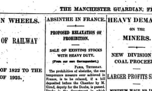 Manchester Guardian, 3 July 1925.