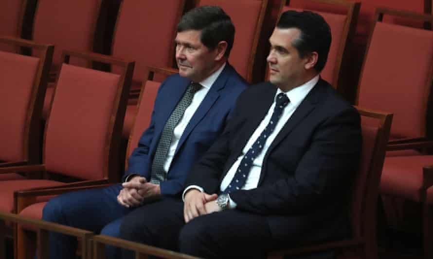 Kevin Andrews and Michael Sukkar in the Senate
