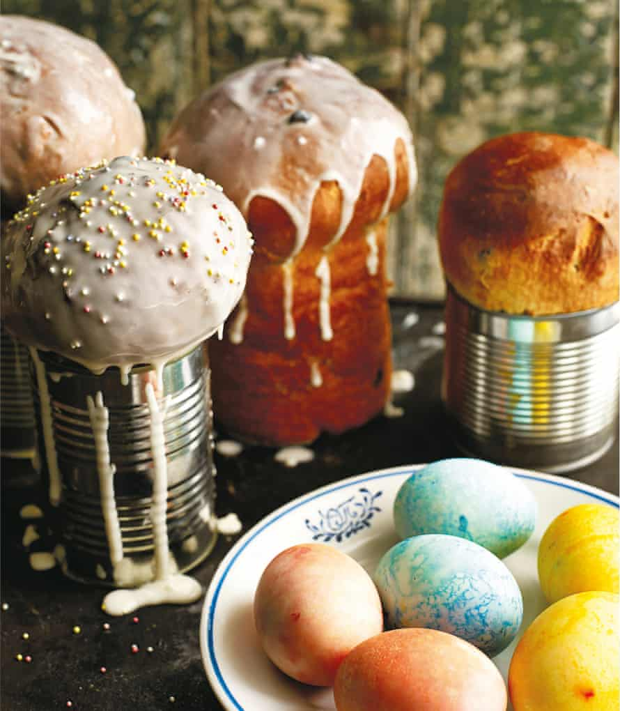 Kulich: 'a slightly bonkers cousin of the Italian panettone'.