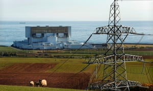 One of the older generation of larger nuclear power stations at Torness, east of Edinburgh.