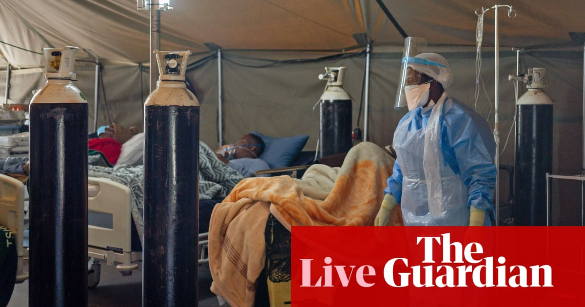 Coronavirus live news: WHO reports record global cases as South Africa reinstates alcohol ban - the guardian
