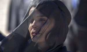 'The woman behind the mask': Natalie Portman as Jackie Kennedy.