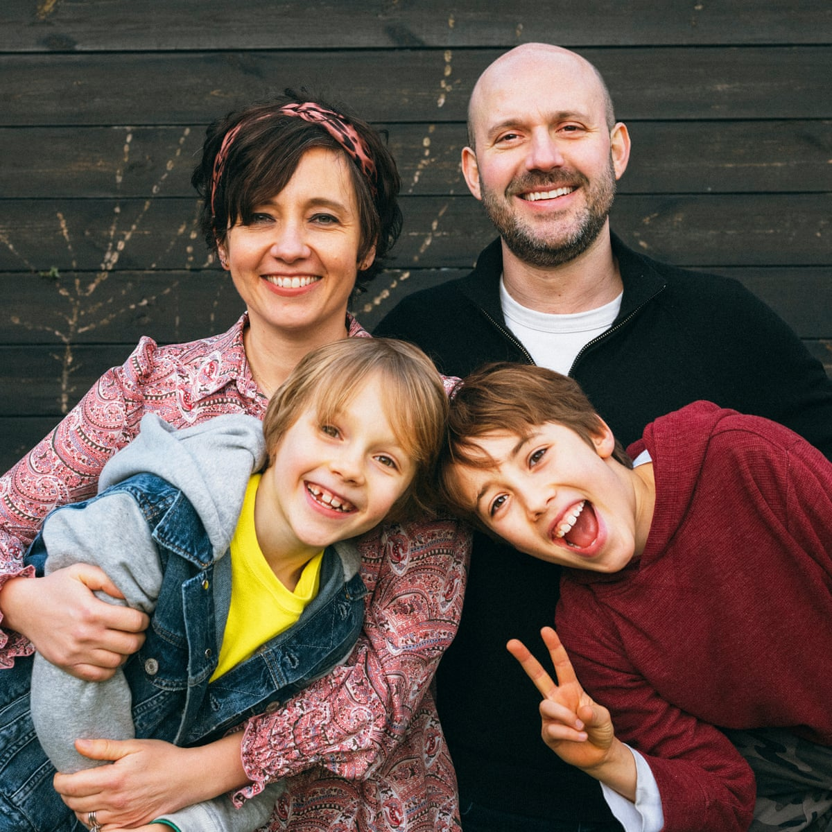 Me and my neurodiverse family: 'It's chaotic, frenetic and hilarious' |  Family | The Guardian