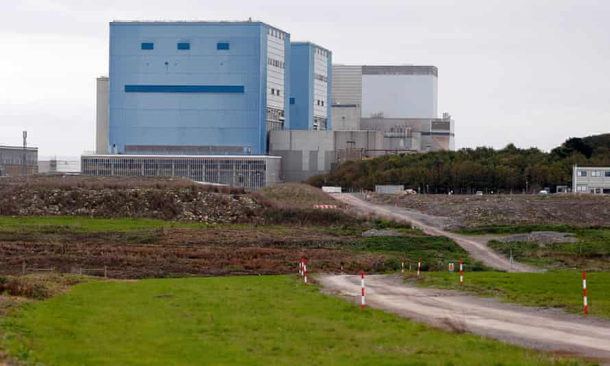 The site where EDF Energy will build Hinkley Point C