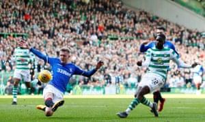 Edouard scores the opener.