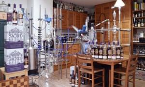 DIY distilling … north London's Sacred Gin.