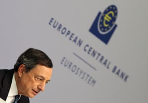Euro on rollercoaster ride after Draghi comments