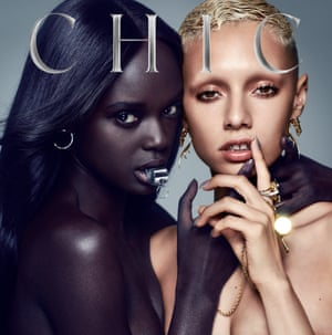 Chic It's About Time LP cover