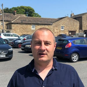 Dan Goldsmith head and shoulders in car park in Barnard Castle