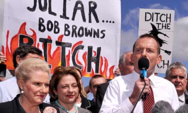 Tony Abbott carbon tax rally