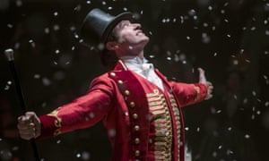 Hugh Jackman as PT Barnum in The Greatest Showman