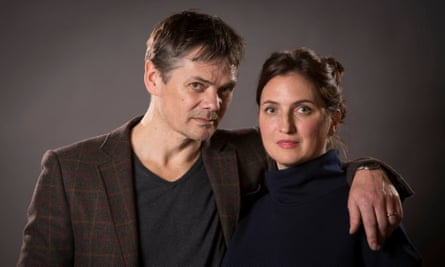 Louiza Patikas and Timothy Watson as Helen and Rob Titchener