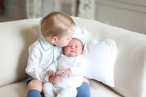 Prince George and Princess Charlotte.