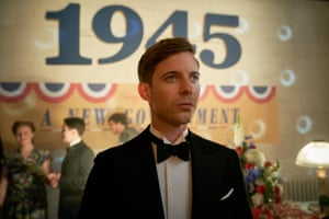 Luke Treadaway as the idealistic young vegetarian Labour MP in Traitors.