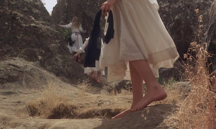 Film still from Picnic at Hanging Rock, directed by Peter Weir (1975)