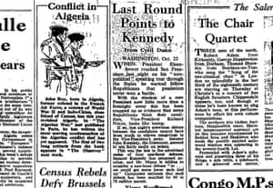The Observer, 23 Oct 1960.