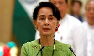 Aung San Suu Kyi: no 'substantive' talks.