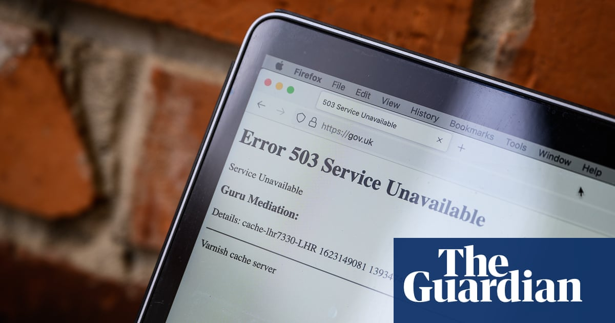 Internet outage illustrates lack of resilience at heart of critical services