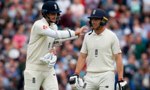 Stuart Broad and Jos Buttler put the tourists on the back foot.
