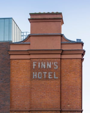 Finn's Hotel … Joyce got two books out of it. Photograph: Alamy