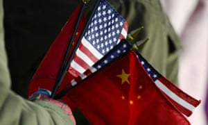 US/China flags