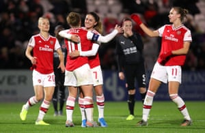 Arsenal are due to play Paris St-Germain in Spain in the Champions League quarter-finals.