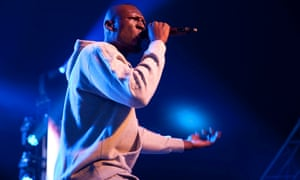 Stormzy headlines the Sonic Stage in Silver Hayes at Glastonbury.