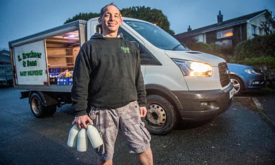 Stuart with his van.