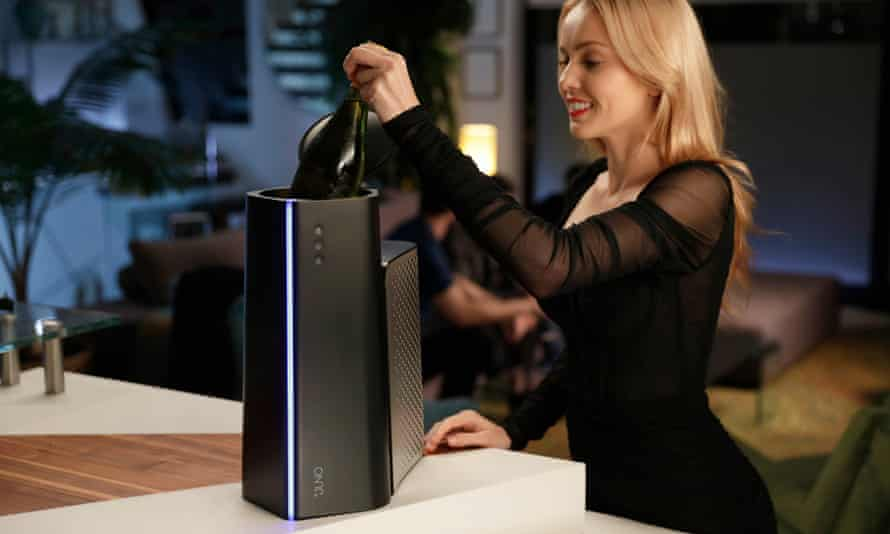 The Matrix Juno will cool your beer, wine or any other liquid within minutes.