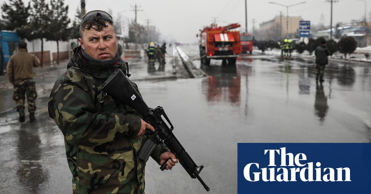 At least five dead in suicide attack on Kabul military academy