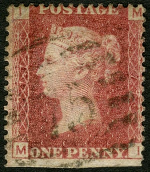 The Plate 77 Penny Red that has sold for £495,000.