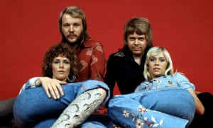 'Not exactly a flawless oeuvre' ... Abba in 1977.