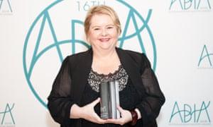 Magda Szubanski at the Australian book industry awards on 19 May, 2016.