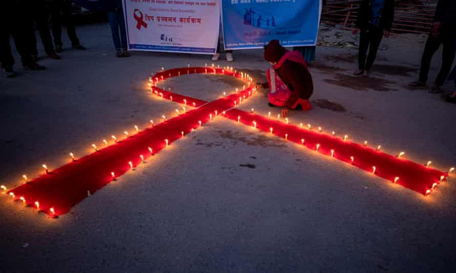 World Aids Day preparations in Nepal at a rehabilitation centre and orphanage for HIV-affected women, children and victims of trafficking.