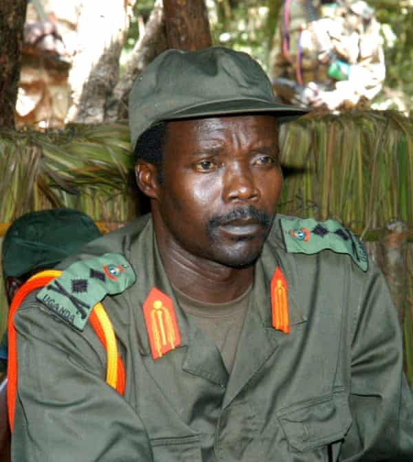 Joseph Kony ... the Ugandan warlord is one of 39 individuals charged by the ICC, though only two have been convicted.