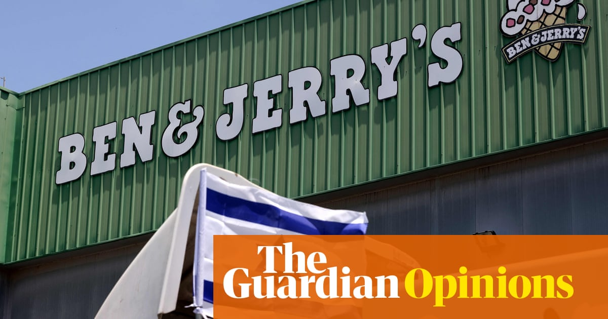 Corporate activism is too often cynical. In Ben & Jerry's case, it offers hope