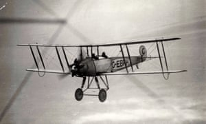 The Helvellyn flight, in the AVRO machine which landed on the mountain, 22 December 1926