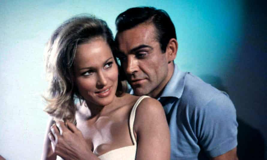 Sexual politics … Sean Connery with Ursula in 1962's film Dr No.