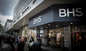 The demise of BHS, which employs 11,000 people, is the biggest failure on the high street since Woolworths in 2008.
