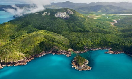 A girl was attacked in the same waters off the Whitsunday islands in Queensland where a woman was attacked 24 hours earlier.
