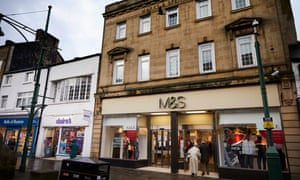 The Marks and Spencer store in Buxton, Derbyshire.