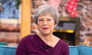 Theresa May appears on ITV's This Morning