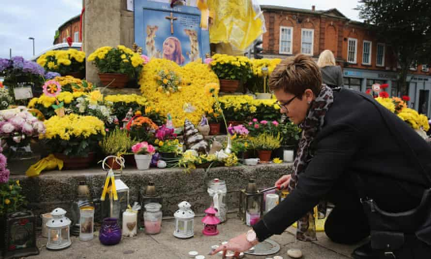 A memorial for Alice Gross in Hanwell.