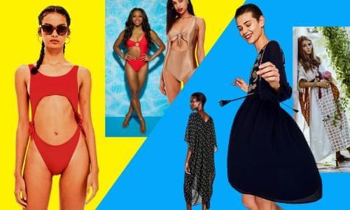 6ca3252890 The big beachwear battle: Insta-kaftans v Love Island cutouts | Fashion |  The Guardian