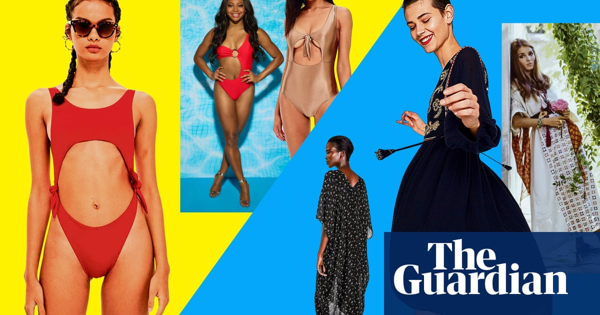 ba7e375136058 The big beachwear battle: Insta-kaftans v Love Island cutouts ...