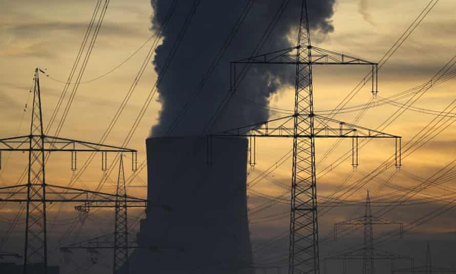 Uniper coal power plant in Hanau, Germany