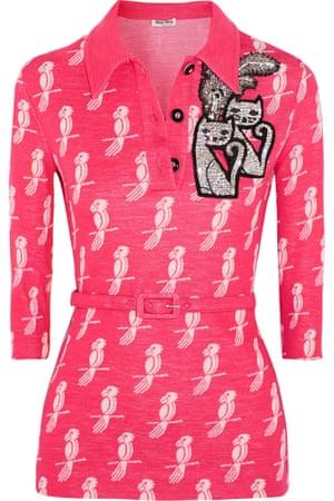 Embellished, £1,425, Miu Miu mytheresa.com
