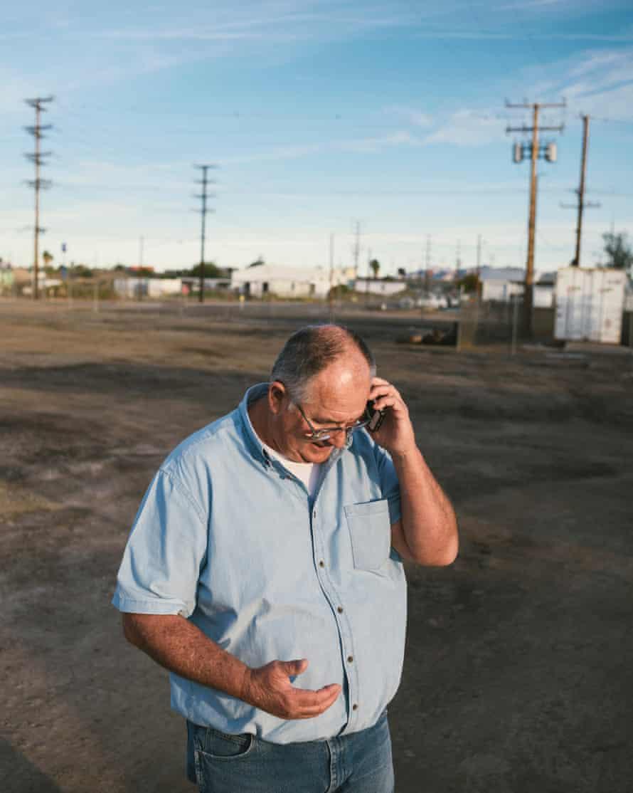 JR Echard, assistant manager of the Palo Verde Irrigation District.