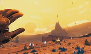 No Man's Sky Beyond in VR … a wondrous feeling of extraterrestrial presence.
