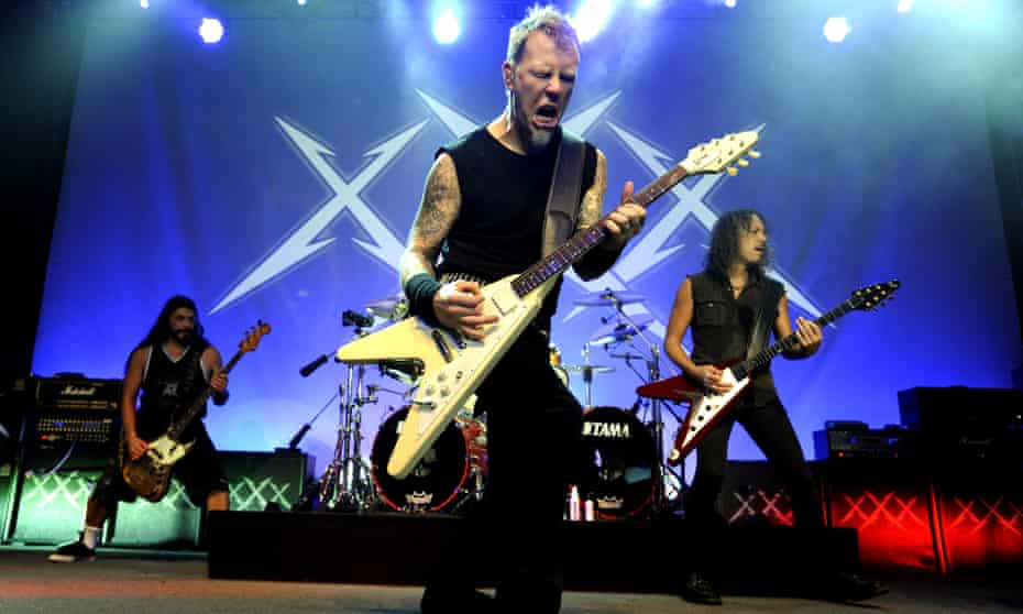 Coping with the apocalypse: Metallica at the Fillmore, San Francisco, 2011.